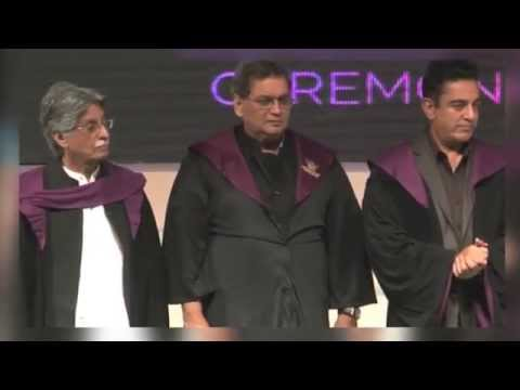 Kamal Hassan Inaugurates Whistling Woods Convocation Ceremony 2014