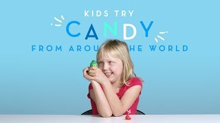 Kids Try: Candies From Around The World | Kids Try | HiHo Kids