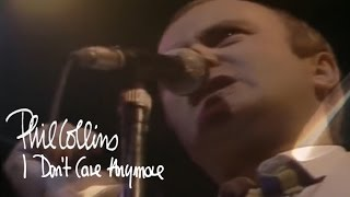 Phil Collins  I Dont Care Anymore Official Music Video