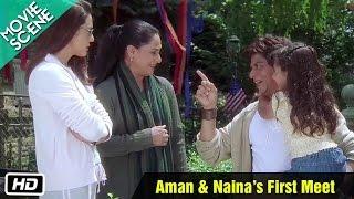 Aman & Naina's First Meet - Movie Scene - Kal Ho Naa Ho - Shahrukh Khan, Preity Zinta