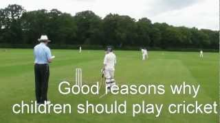 Good Reasons Why Children Should Play Cricket