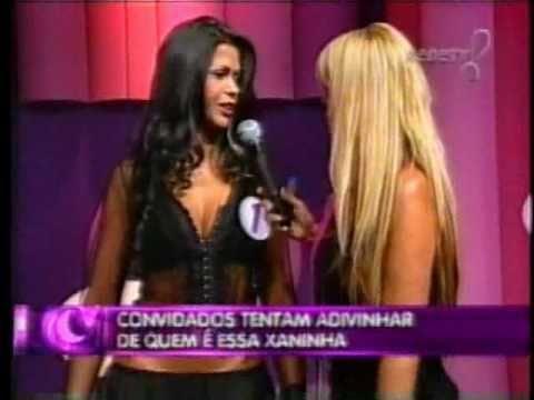 Cris Storelly no Noite a Fora com Monique Evans na Rede Tv