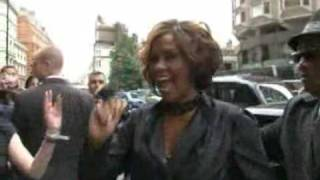 Whitney Houston - Entering Album Listening Party (7/14/2009)