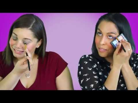 Xxx Mp4 The Latina Staff Tries The No Mirror Makeup Challenge 3gp Sex
