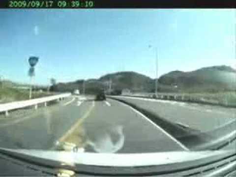 incidente in diretta auto giappone