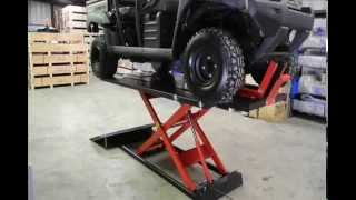 Redline 1500HD Motorcycle & ATV Lift Table From www.RedlineStands.com
