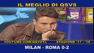 QSVS - I GOL DI MILAN - ROMA 0-2  TELELOMBARDIA / TOP CALCIO 24