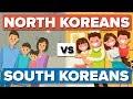 Average North Korean vs the Average South Korean - People Comparison