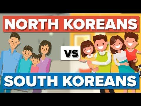 Xxx Mp4 Average North Korean Vs The Average South Korean People Comparison 3gp Sex