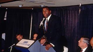 The Announcement: Magic Johnson