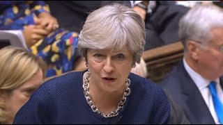 Theresa May answers Prime Minister's Questions (18 October 2017)