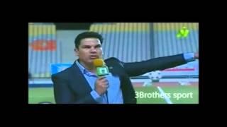 محمد صلاح واجمل حلاقة لمذيع قناه النايل سبورت||