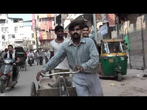 NUEVA DELHI, INDIA 7 CAMINANDO CON RANA MI CHOFER, GUIA Y AMIGO