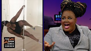 Nicole Byer Can Dominate a Pole Dance