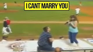 5 Marriage Proposals That Ended Up Horrible!