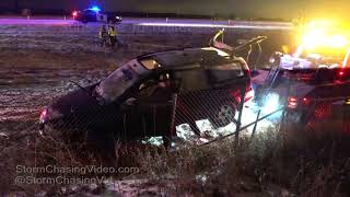 Saint Cloud, MN Wreck Recovery and Rolling Road Block - 12/15/2017