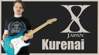 X Japan - Kurenai 紅 (Guitar Cover HD)