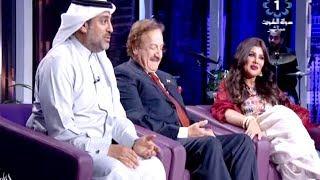 خالد الامين والهام الفضاله والنجم محمد المنصور نجوم مسلسل روتين في برنامج ليالي الكويت