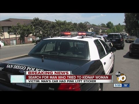 Search on for man who tried to kidnap woman