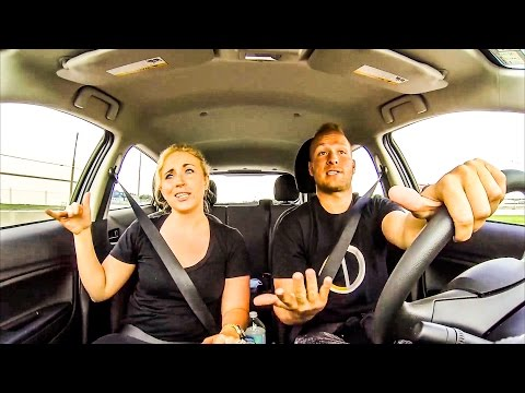 2016 Lip Sync Mashup • Funny Couple in Car