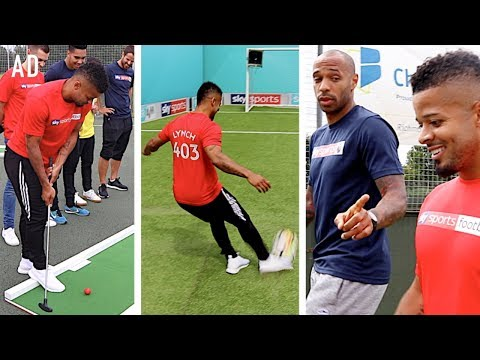 F2 VS LEGENDS & YOUTUBERS | EPIC SPORTS DAY!