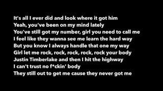 Drake - Pop Style (feat. The Throne) Lyrics
