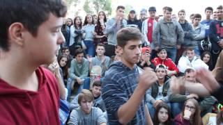 Street Battle/Vaicen y MC Touch vs Kram y Treze