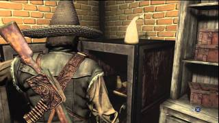 Red Dead Redemption robbing a bank epic fail.