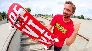 THE PERFECT SKATEBOARD SETUP FOR THE FALL! / Andy Schrock