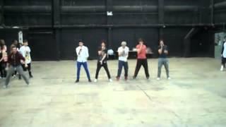 JLS:One Direction Rehearsal - Leon Petit