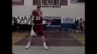 Matt Bonner slam dunk contest