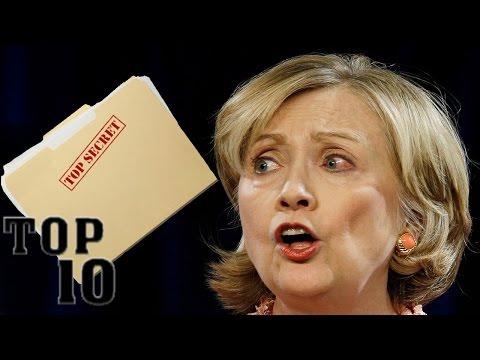 Xxx Mp4 Top 10 Hillary Clinton Scandals 3gp Sex