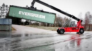 Kalmar DRG100 Empty And Semi-laden Container Reachstacker