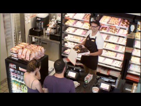 Ellen in Your Ear at Dunkin Donuts