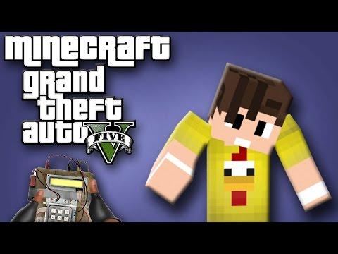 Minecraft   Grand Theft Auto V (GTA V)   C-4 PATLAYICI !!