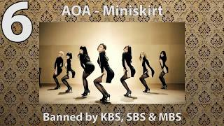 KPOP DANCES BANNED FOR BEING TOO SEXY