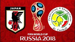 FIFA 18 - JAPAN VS SENEGAL WORLD CUP 2018