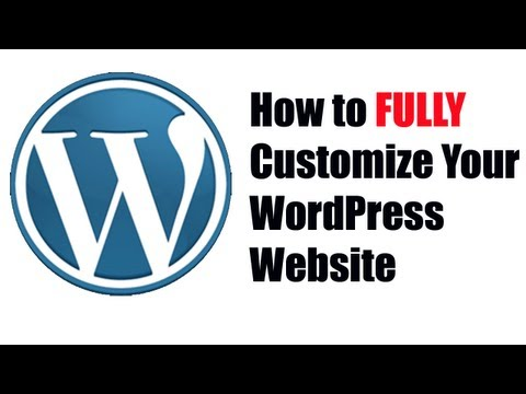 How to Customize Your WordPress Theme - YouTube Alternative Videos Watch & Download