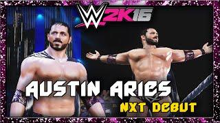 WWE 2K16   Austin Aries   CAW Formula+Entrance & Finisher
