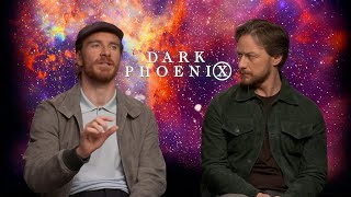 James McAvoy & Michael Fassbender on new X-Men movie `Dark Phoenix`