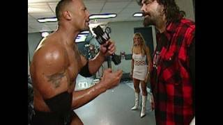 WrestleMania XX: The Rock makes his rounds at Madison
