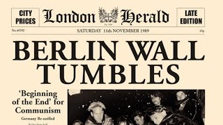 Fall of Berlin Wall - बर्लिन की दीवार क्यों टूटी - World history - UPSC - Hindi Documentary
