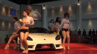 Nikky and friends car washing at BKK auto salon