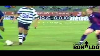 Cristiano Ronaldo - First Match For Sporting Lisbon  Debut  2002 HD