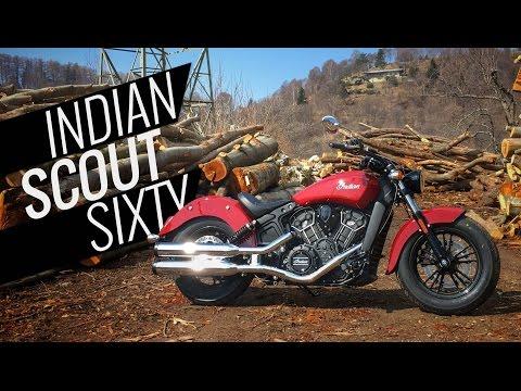 Indian Scout Sixty, la prova di Motoreetto