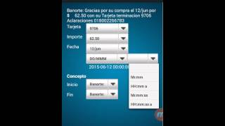 Importar SMS Banorte