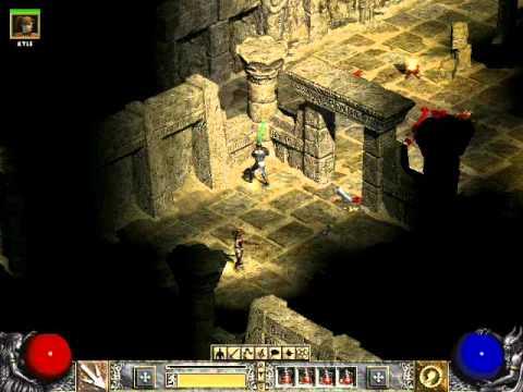 Zagrajmy w Diablo 2 cz 60 Świątynia Żmijoszponów