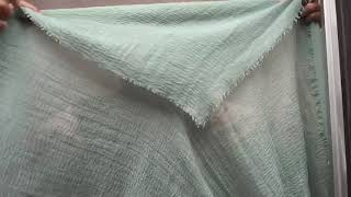 Tutorial bawal shawl labuh ✨