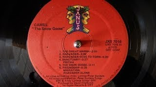 Camel - The Snow Goose (1975 / vinyl rip / LP / full album)