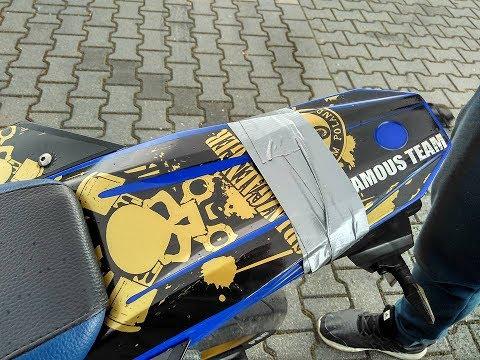 Xxx Mp4 Nauka Jazdy Motocyklem 125 Na Tylnym Kole Yamaha WR125X 3gp Sex